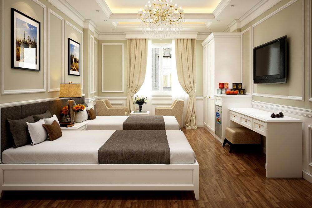 Đồ gỗ nội thất khách sạn