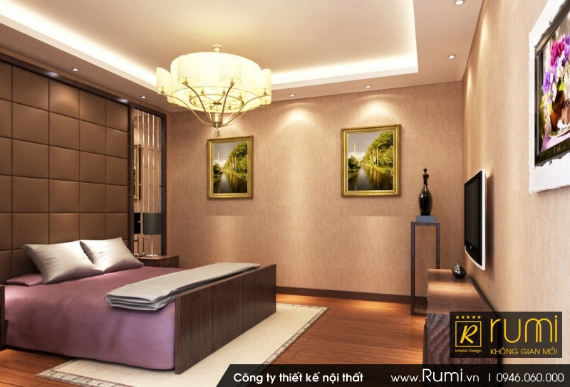 Mẫu nội thất nhà biệt thự đẹp, đẳng cấp tại Hoàng Mai, Hà Nội