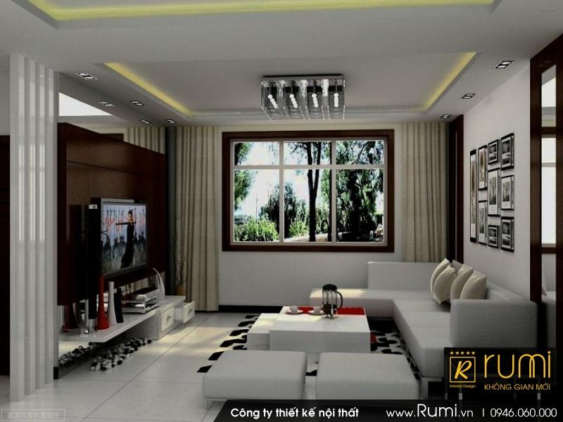 Thi công nội thất nhà chung cư đẹp Vinhomes Nguyễn Chí Thanh - Hà Nội