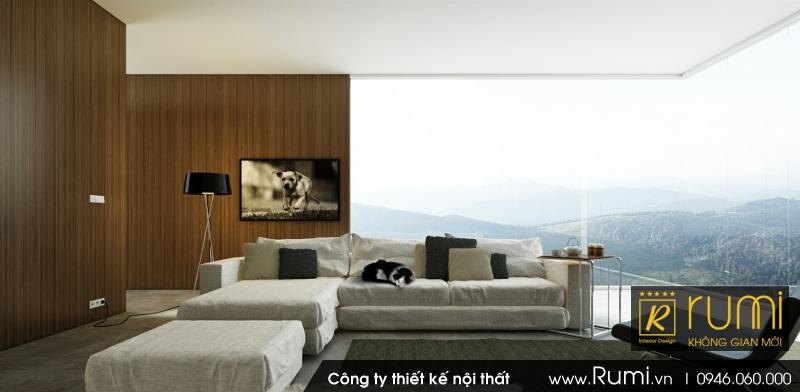 Mẫu nội thất nhà phố cao cấp, hiện đại và sang trọng ở Tp. Vinh - Nghệ An