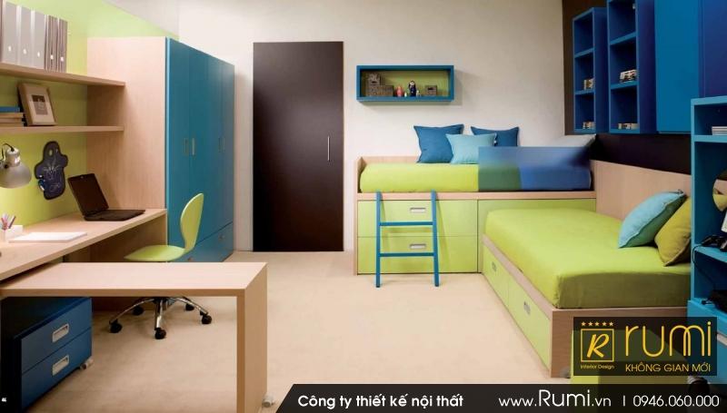 Mẫu thiết kế nội thất chung cư đẹp, đẳng cấp - toà nhà EURO WINDOW