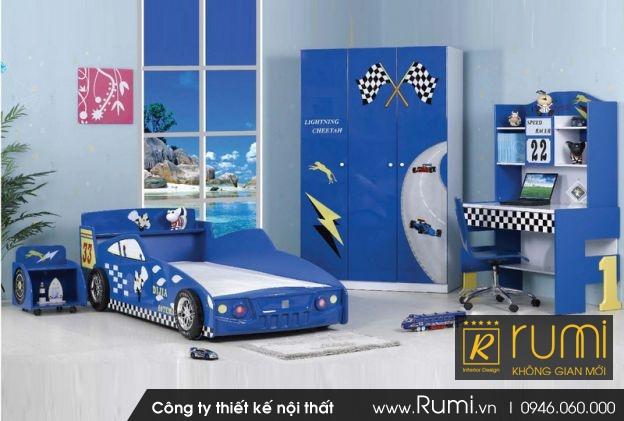 15 mẫu phòng ngủ tuyệt đẹp dành cho bé trai