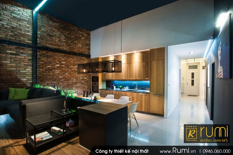 Mẫu nội thất chung cư đẹp 2017 theo phong cách triết chung