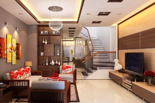 Nội thất chung cư 90m2 sang trọng và hiện đại tại Quảng Ninh