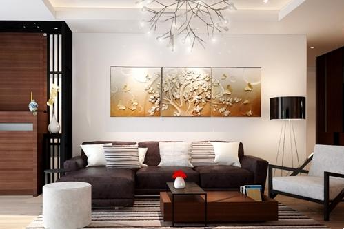 Thi công nội thất nhà chung cư đẹp Vinhomes Nguyễn Chí Thanh