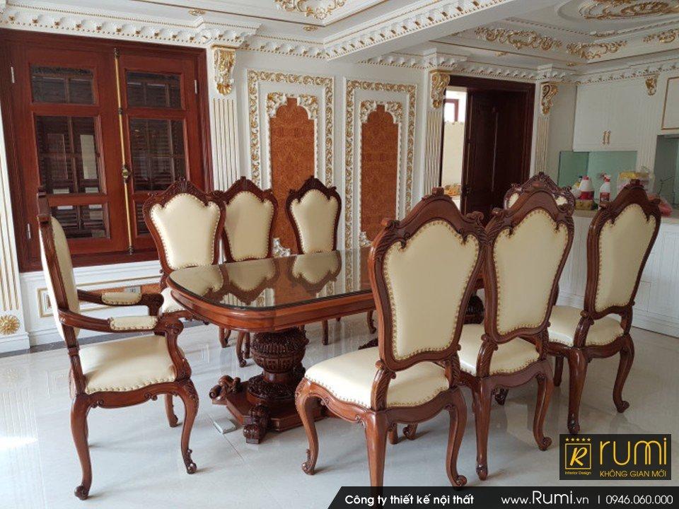 Thi công nội thất tân cổ điển tại Hà Nội