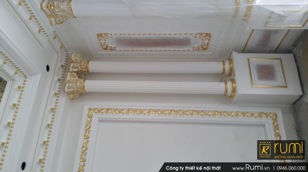 Thi công nội thất tân cổ điển tại Xã Ngọc Tảo, Phúc Thọ