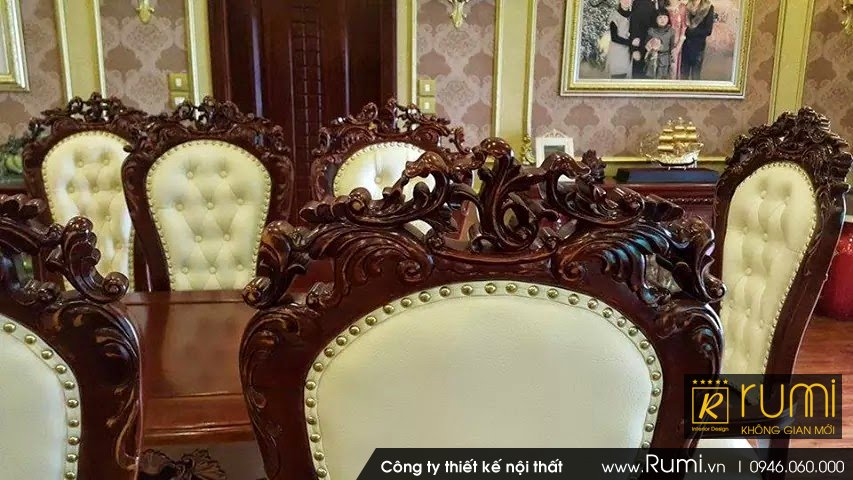 Thi công nội thất tân cổ điển tại Xã Minh Trí, Sóc Sơn