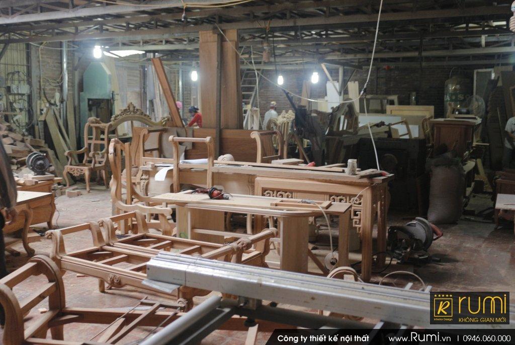 Thi công nội thất tân cổ điển tại Xã Mai Đình, Sóc Sơn