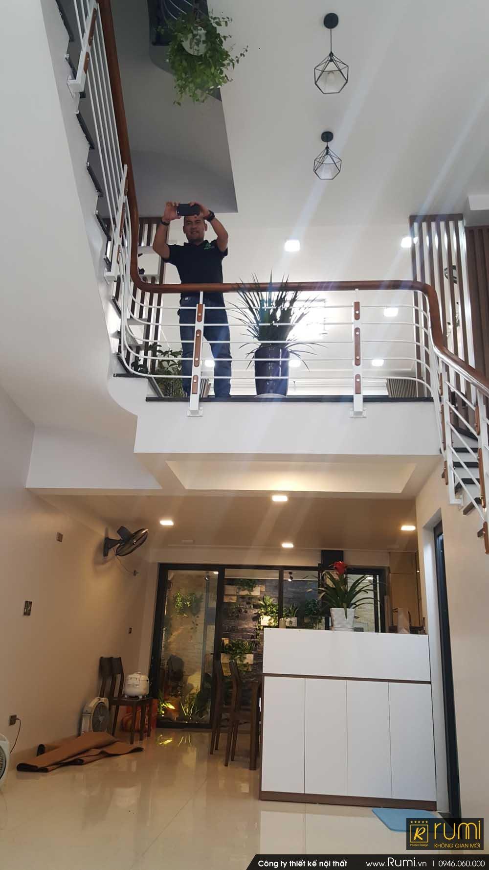 Hoàn thiện dự án nội thất nhà phố 4 tầng tại Đông Anh, Hà Nội