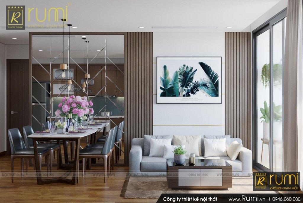 Thiết kế và thi công nội thất căn hộ chung cư Vinhomes West Point