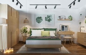 Thiết kế căn hộ 70m2 theo phong cách Vintage