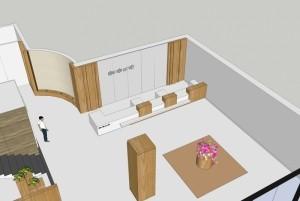 Thiết kế nội thất văn phòng đẹp cho bệnh viện Lạc Việt, Vĩnh Phúc