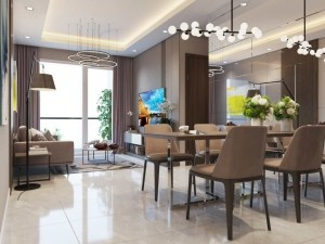Thiết kế và thi công nội thất chung cư Metropolis tại Hà Nội