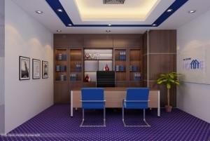 Mẫu thiết kế nội thất văn phòng hiện đại, cao cấp tại Hà Nội
