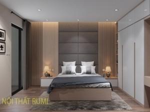 Thi công nội thất biệt thự 2 tầng tại Nam Định