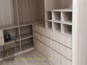 Thi công nội thất chung cư 60m2 ở TP. Vinh - Nghệ An