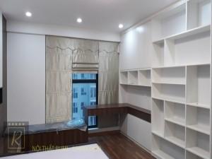 Mẫu thiết kế nội thất chung cư 70m2 tại Hòa Bình Green City