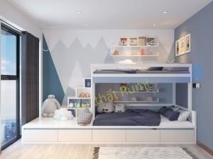 Thiết kế nội thất chung cư 110m2 tại Hải Phòng