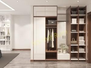 Thiết kế nội thất chung cư Hà Nội hiện đại 120 m2 Vinaconex 3