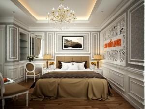 Thi công nội thất khách sạn Sao Biển
