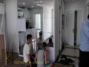 Mẫu thiết kế nội thất nhà phố hiện đại, đẹp tại Lạng Sơn