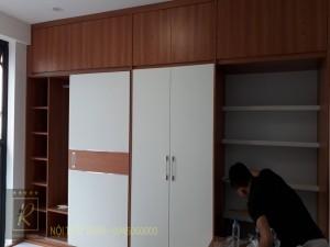 Mẫu thiết kế nội thất nhà phố 40m hiện đại tại Hà Nội