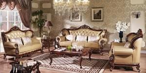 Mẫu phòng khách tân cổ điển RUMIX39
