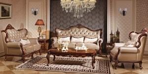 Mẫu phòng khách tân cổ điển RUMIX42