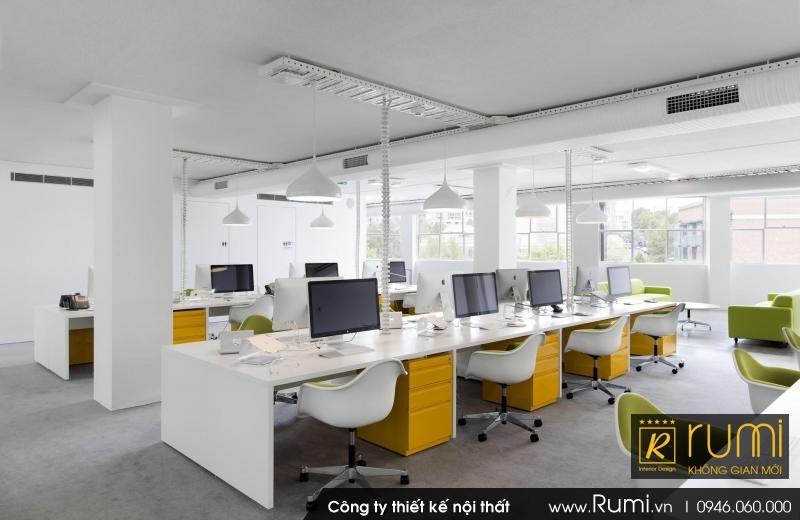Cách bài trí nội thất văn phòng hợp phong thủy