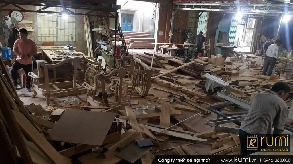 Xưởng sản xuất đồ gỗ nội thất cao cấp tại Hà Nội