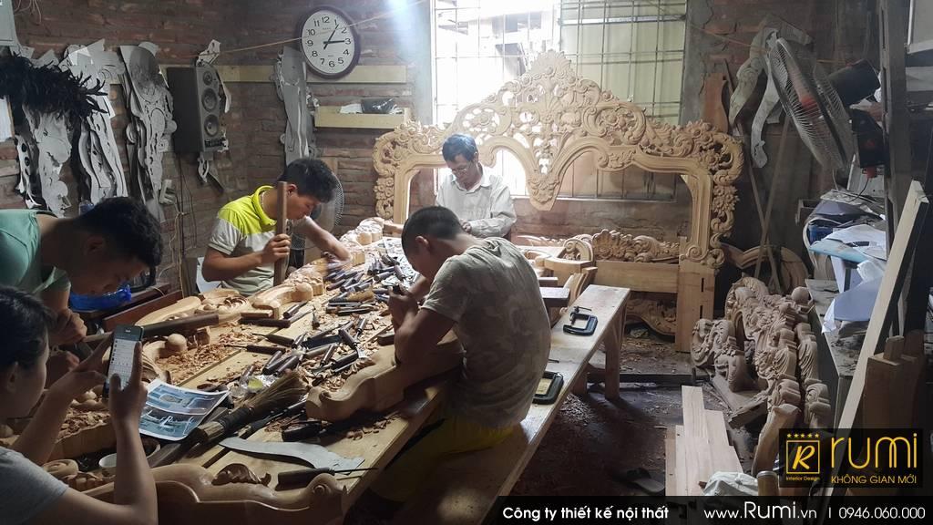 Xưởng sản xuất đồ gỗ công nghiệp tại Hà Nội