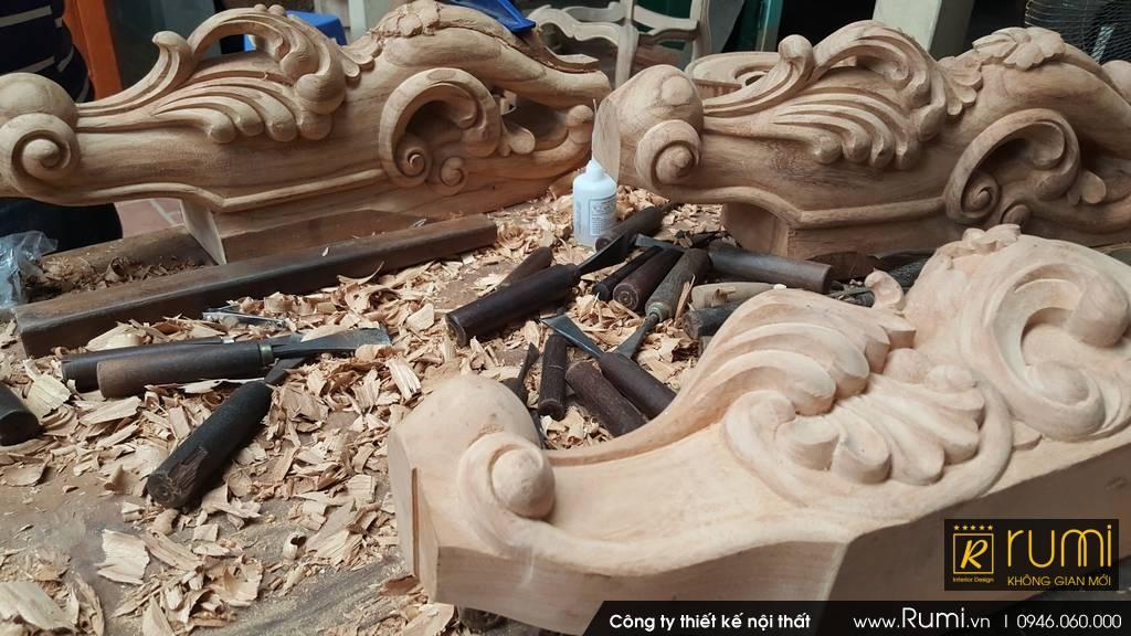 Xưởng sản xuất đồ gỗ gia tăng sản xuất dịp cuối năm 2018