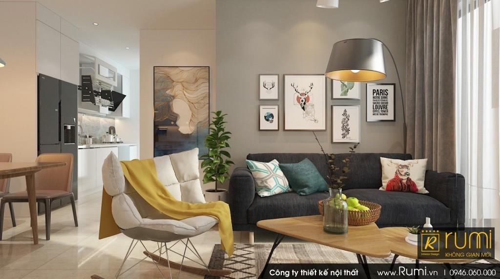 Thi công nội thất Vinhome Smart city hiện đại và sang trọng