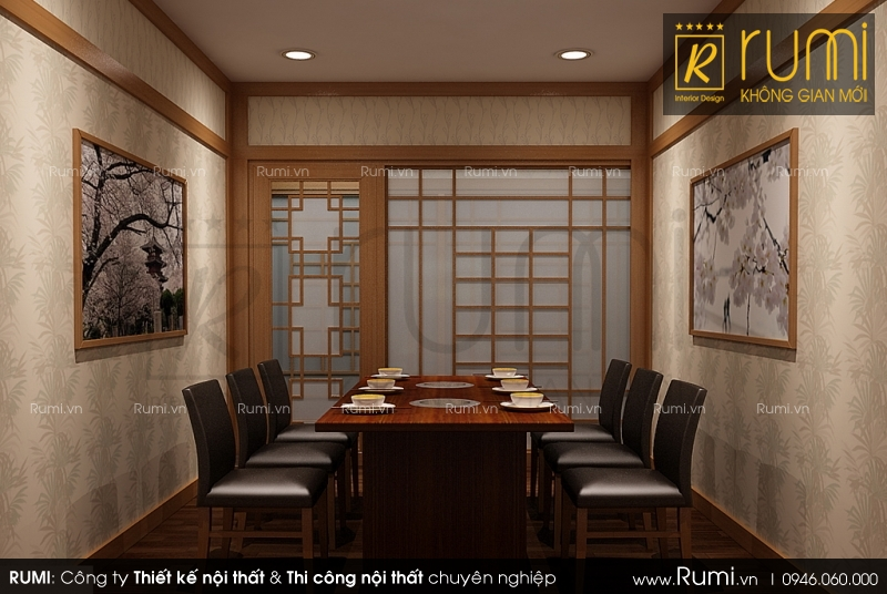 Mẫu thiết kế nội thất nhà hàng CHEN sang trọng và đẳng cấp tại Hà Nội