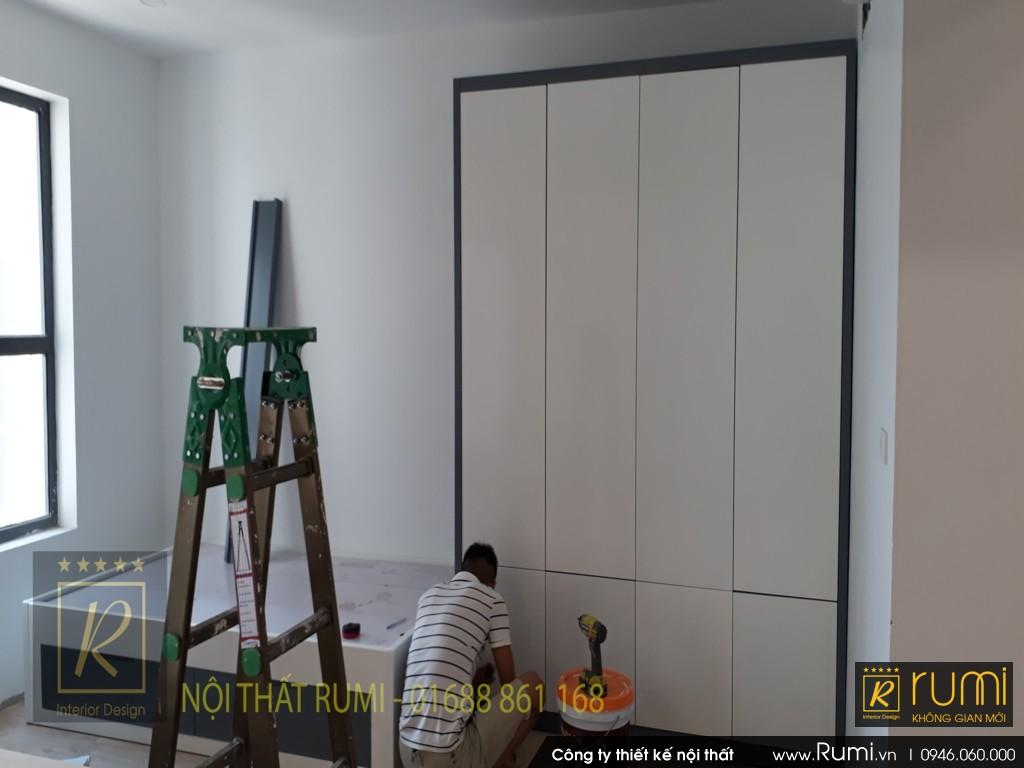 Thiết kế nội thất chung cư 90m2 sang trọng và hiện đại tại Quảng Ninh